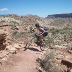 Moab Camper Rocking A Tough Switchback