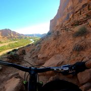 Challenging mountain bike Trails