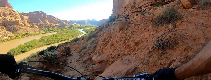 Challenging mountain bike Trails