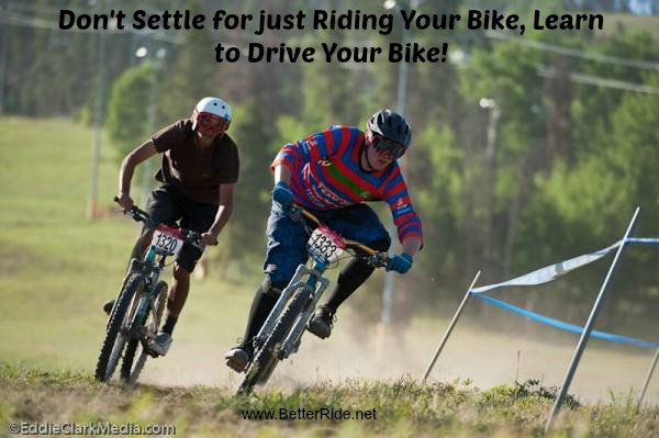 Stop being one with your bike! Mountain bike better today