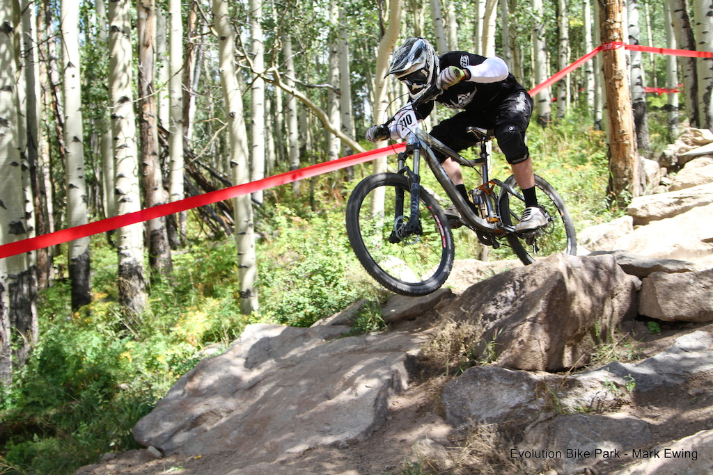 Kain Leonard smoothing it out in Crested Butte!