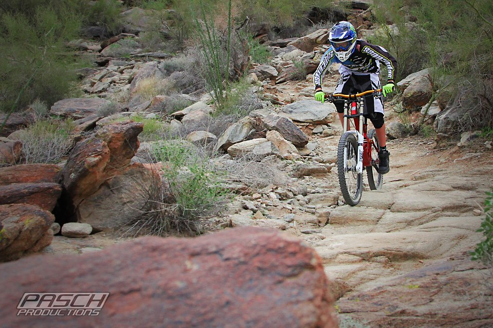 South Mountain has downhill worthy trails as well as miles of smiles xc trails.