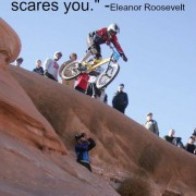 do what scares you