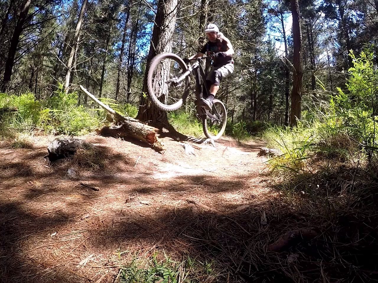 Mountain Bike Bump Jump, Video Tutorial