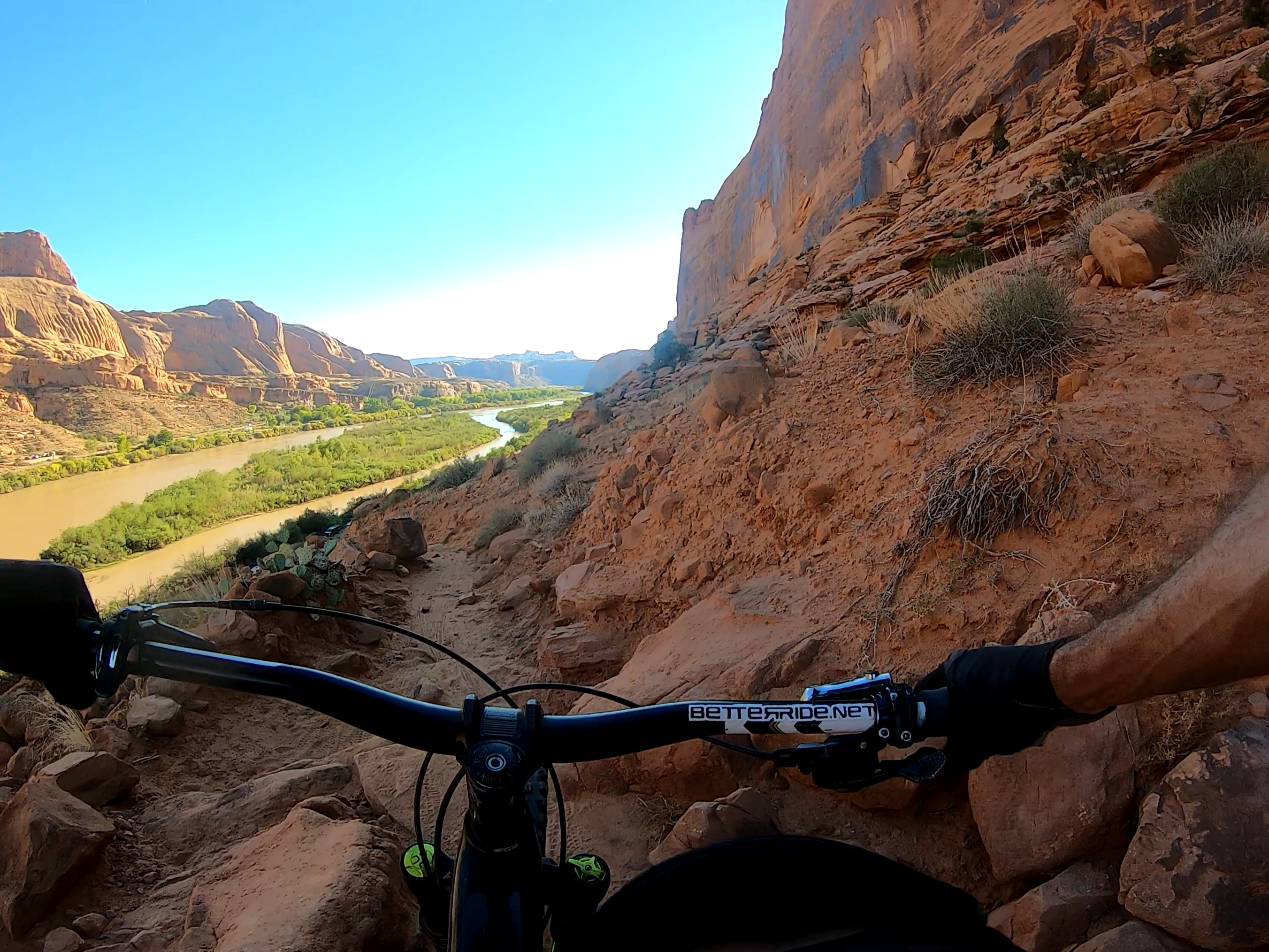 Challenging Mountain Bike Trails Should be Ridden with Skills, Not Balls MTB Video