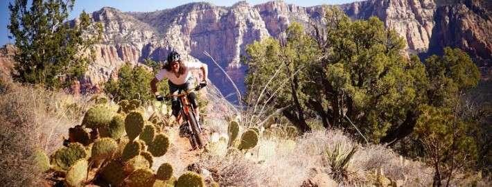 mountain biking in Sedona
